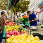 Markets are a great source of fresh food.  If you don't have one near you, you may have a fruit and veg stall.
