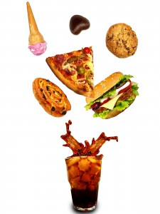 Picture of 'junk' foods