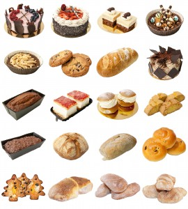 Cakes and breads