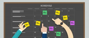Interactive planning schedule