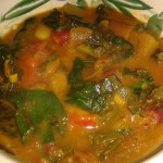 Bowl of home made vegetable soup