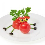 Deer Of Tomatoes, Parsley And Olives