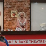 Charlotte White demonstrates icing