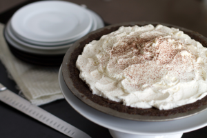 Chocolate paleo pie