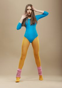 If only I looked this good in a leotard when I'm confused - or indeed at any other time.