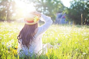 Sunlight is our principle source of Vitamin D, and spending time outside is good for health in so many ways.